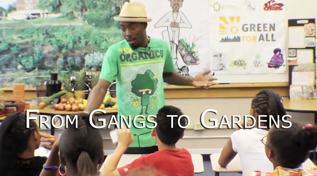 From Gangs to Gardens | JLove Calderón